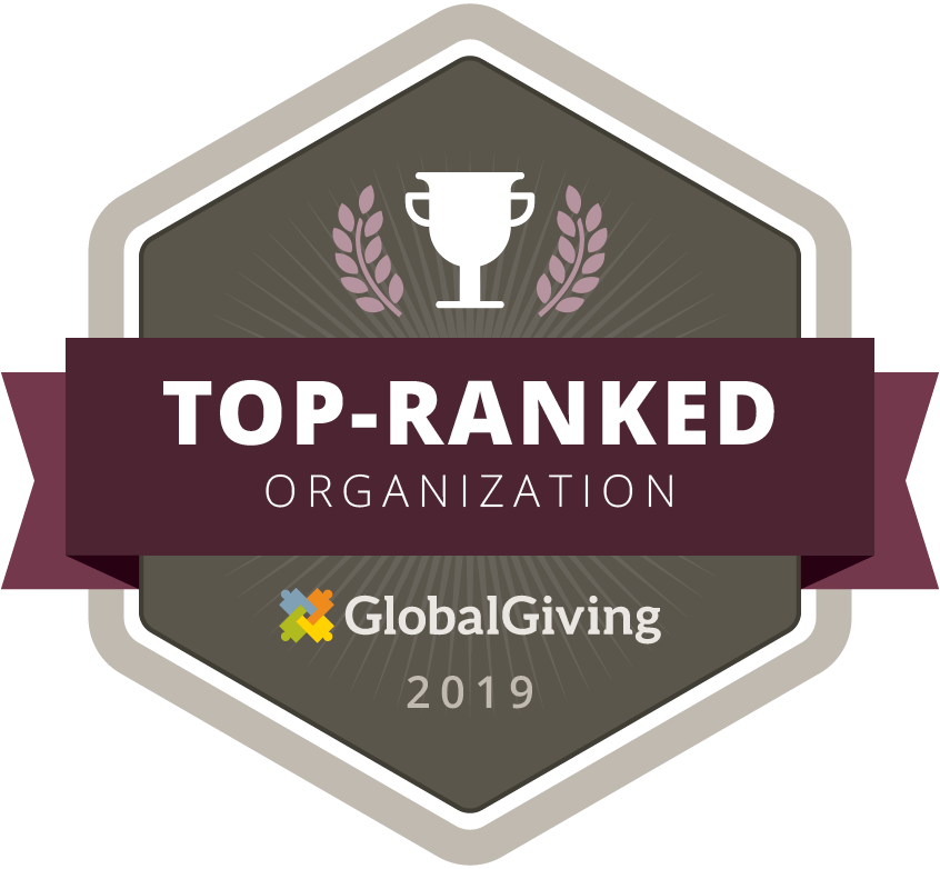 Global Giving 2019 Top Ranked Organization